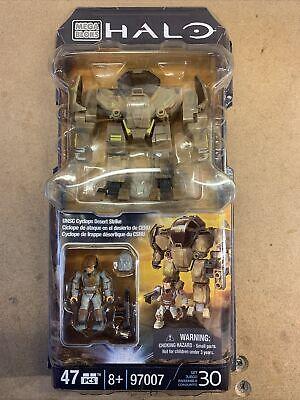 Mega Bloks Halo 97007 UNSC Cyclops Desert Strike - 47 PCS -...