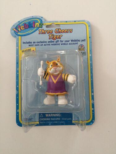 GANZ Webkinz Three Cheers Tiger Figure with Code Enclosed