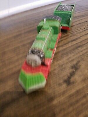 Thomas The Train Trackmaster Henry Snow Covered Plow With Tender