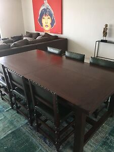 Dining room table, chairs and seating bench Dover Heights Eastern Suburbs Preview