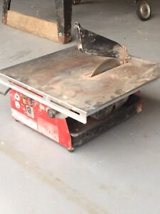 Tile water saw