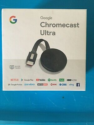 Google Chromecast Ultra Media Streamer