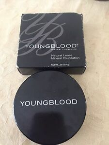 New & half price $25 for Youngblood Mineral Foundation Redbank Plains Ipswich City Preview