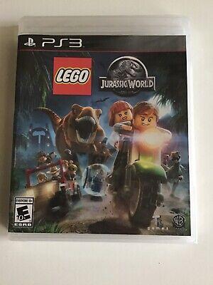 PlayStation 3 LEGO Jurassic World (2015)2 Players.Rated E 10+ Jurassic Park