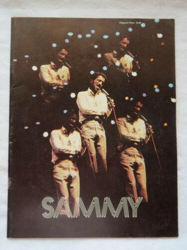 Sammy Davis Jr Music Tour Program 1972