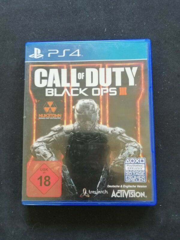 Call Of Duty: Black Ops 3 (Sony PlayStation 4, 2015, DVD-Box)