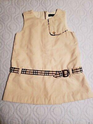 Burberry Baby Girls Dress Sz 2 Y