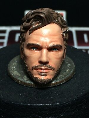 MARVEL LEGENDS PAINTED/FITTED MCU PETER QUILL STARLORD (CHRIS P.) FOR 6/7IN FIG.