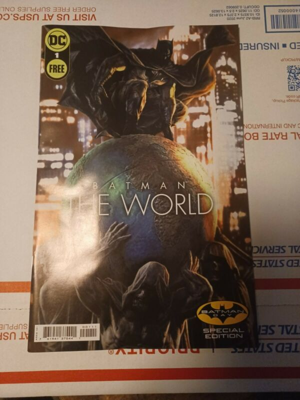 Batman The World #1 Batman Day Special Edition (DC, 2021) NM OR BETTER