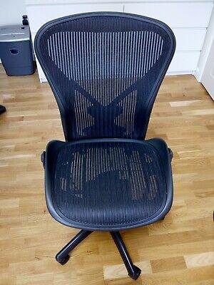 Herman Miller aeron chair size B with 'Posturefit'