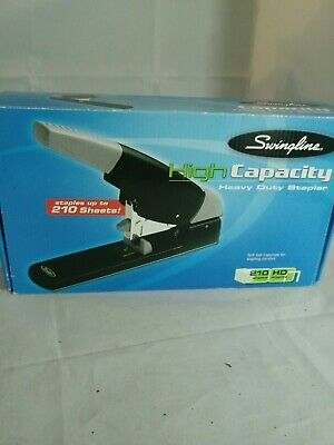 Swingline High Capacity Heavy Duty Stapler 210-sheet Blackgray 90002