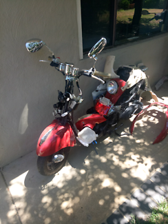 50cc scooter (NOT REGISTERED OR RUNNING)