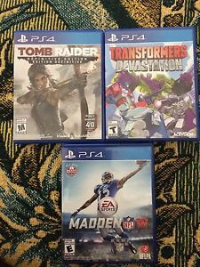 PS4 GAMES GREAT PRICES!!