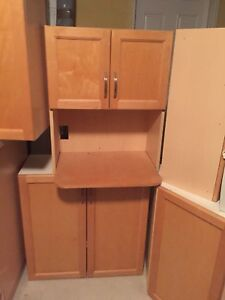 Mint condition laundry/kitchen cabinets