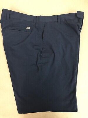 Nike Tiger Woods Collection Mens Navy Blue Golf Shorts Size 36