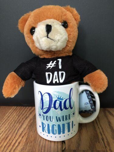 Gift For Dad Coffee Mug And Bear Set Gift Set #1 Dad Collect