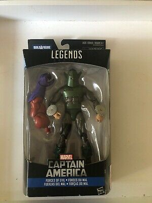 "NEW MARVEL LEGENDS SERIES FORCES OF EVIL WHIRLWIND 6"" BAF RED SKULL FIGURE ARM"