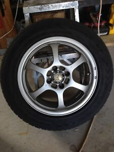 "15"" civic mag wheels w/Goodyear eagle GT's ,....nego"