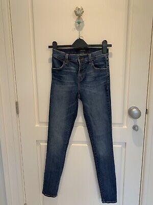 J Brand 24 High-Waisted Skinny Jeans