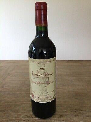 1 x Flasche Rotwein - Jean Pierre Moueix - Grand Vin De Bordeaux - 2002