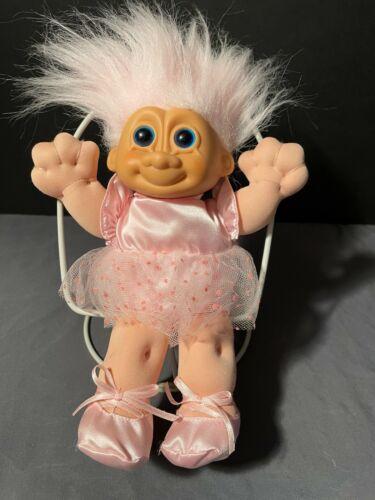 """Vintage RUSS  TROLL Doll Large 9"""""""
