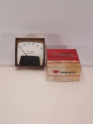 Triplett General Electric 430-g Panel Meter 0-500 Ac Volts 1119825 Nos