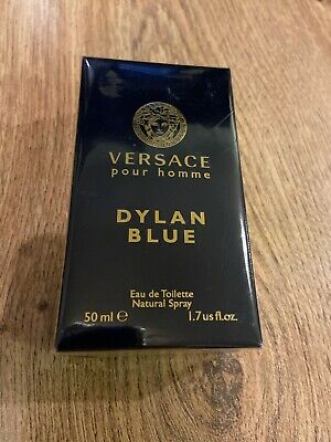 Versace Dylan Blue 50ml Men's Eau de Toilette 100% Original