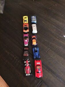 Hotwheels and other toy cars