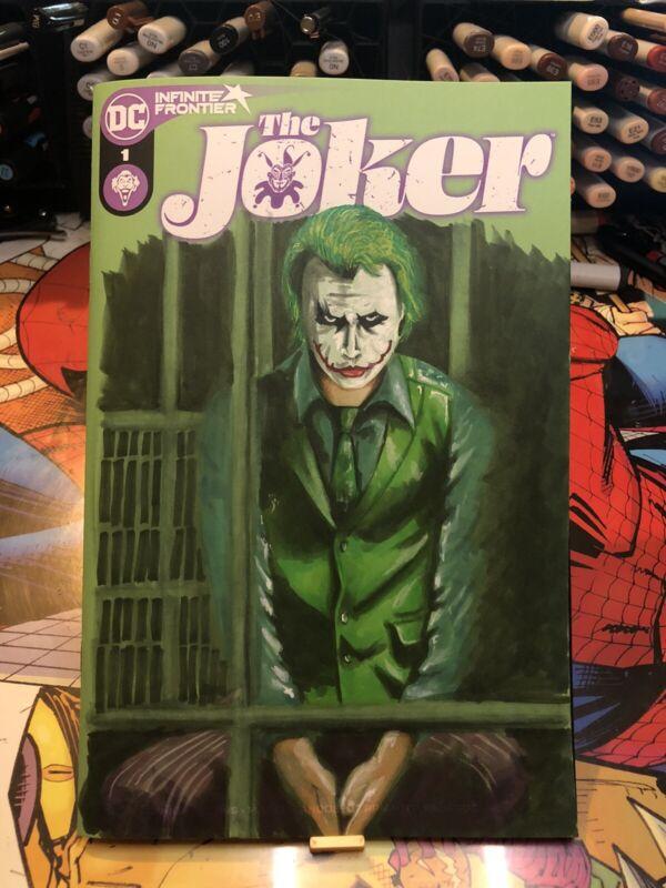 The Joker #1 Sketch Variant with Sketch