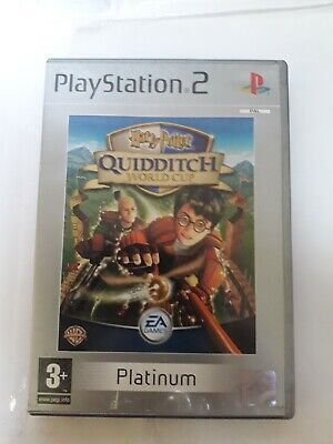 ps2 video game HARRY POTTER QUIDITCH WORLD CUP PLATINUM for sale  Shipping to Nigeria