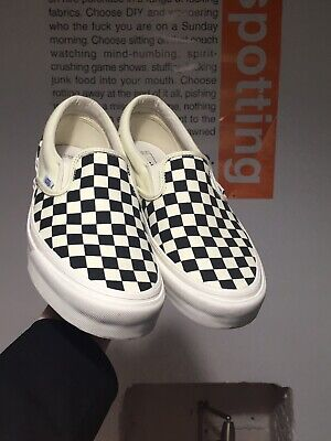 NEW Vans Originals Checkerboard Slip-On Trainers (RRP £52)