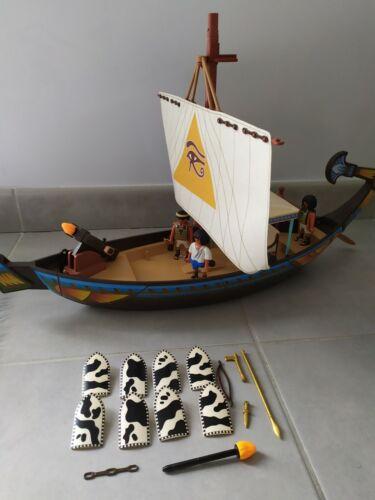 Playmobil barque Égyptienne Égypte quasi complet 4241