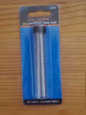 20g Lead Free Rosin Core Solder 20 Gauge Low Temperature Electrical Solder