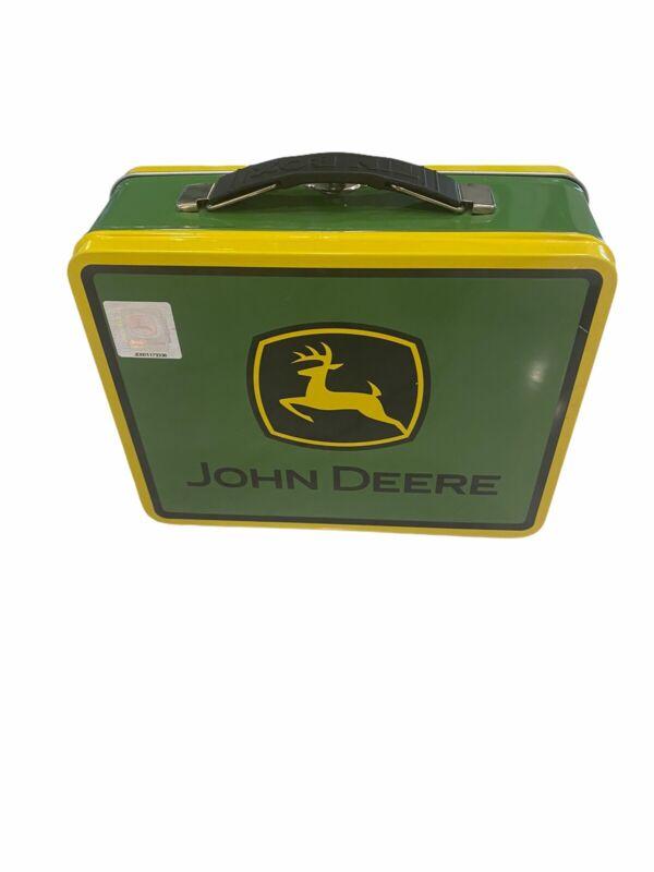 John Deere Metal Lunch Box Item #JD00117336 Free Shipping