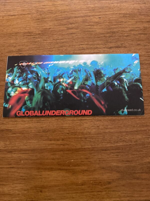 Global Underground Update. John Digweed