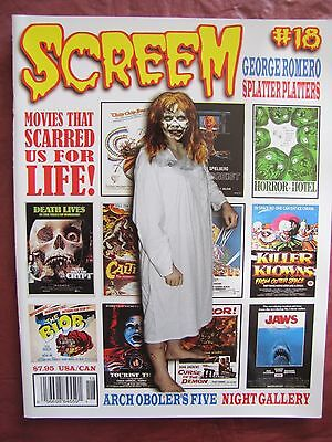 Screem 18 Uncirculated George Romero Night Gallery - $10.00