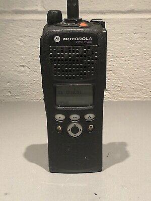 Motorola Xts2500 Model Ii 700800 Mhz Astro P25 Digital Radio H46ucf9pw6bn 9600