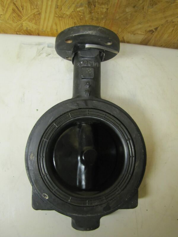 """CRANE BUTTERFLY FLOWSEAL VALVE 12 NCZ 12 200 CWP 4"""" NEW"""