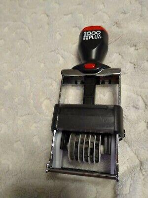 Self Inking Stamper (2000 Plus Numbers Stamp  Self-Inking - Stamper Black)