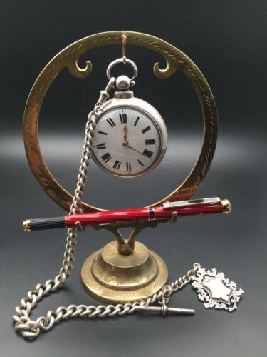 Vintage Brass Pocket Watch Holder Stand