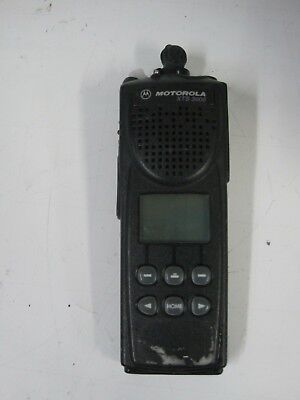 Motorola Xts3000 Digital Police Radio -no Ac Adapter No Battery- H09rdf9pw7an
