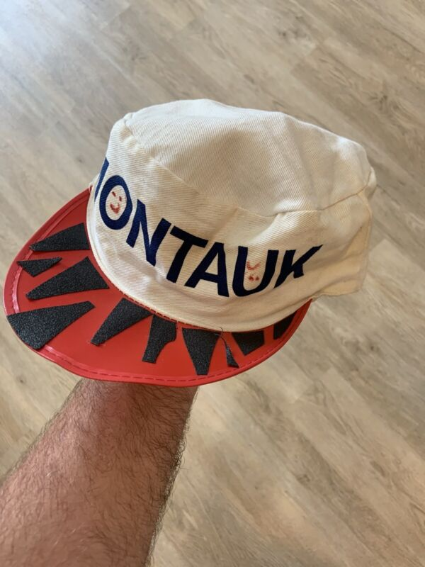 Vintage 1980's Montauk Skateboard Hat