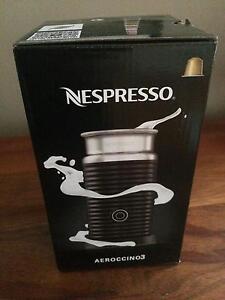 Nespresso aerocino milk frother NEW Lane Cove Lane Cove Area Preview