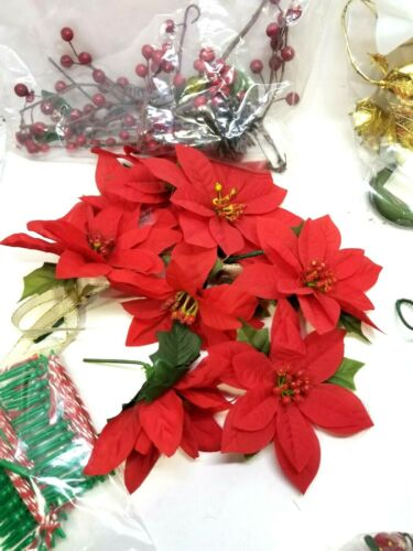 Lot of Miscellaneous Christmas Decoration & Craft items (G24C)