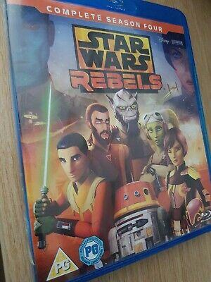 Star Wars Rebels: Complete Season 4 [Blu-ray]