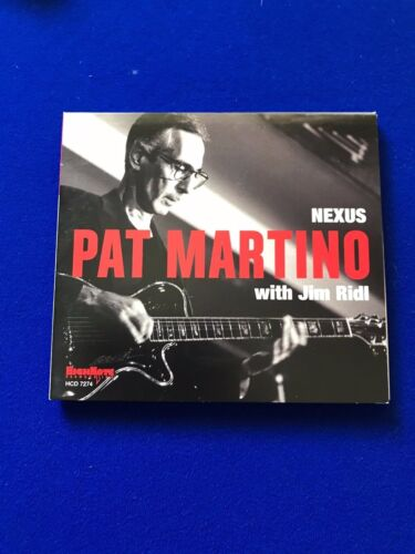 NEW+Pat+Martino+with+Jim+Ridl+Jazz+CD+Promo+Copy+Nexus+2015