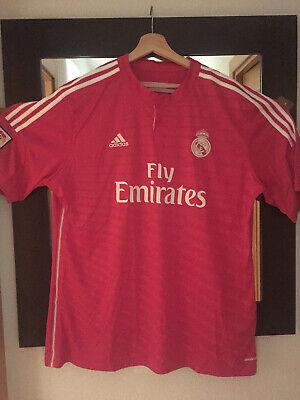 Camiseta Original Real Madrid Adidas para estrenar. Color fucsia. Talla 2XL.
