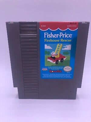 Fisher Price: Firehouse Rescue *Nintendo Entertainment System* Cart Only