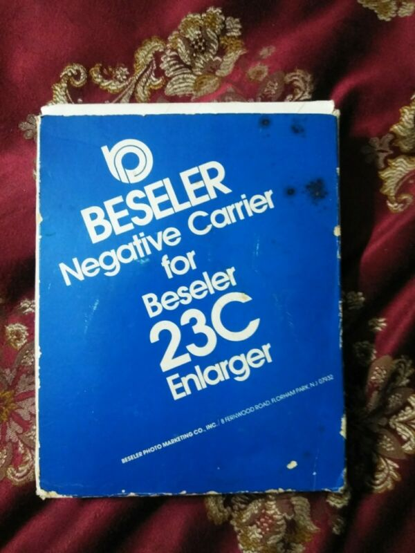 BESELER NEGATIVE CARRIER FOR 23C SERIES ENLARGERS NEW
