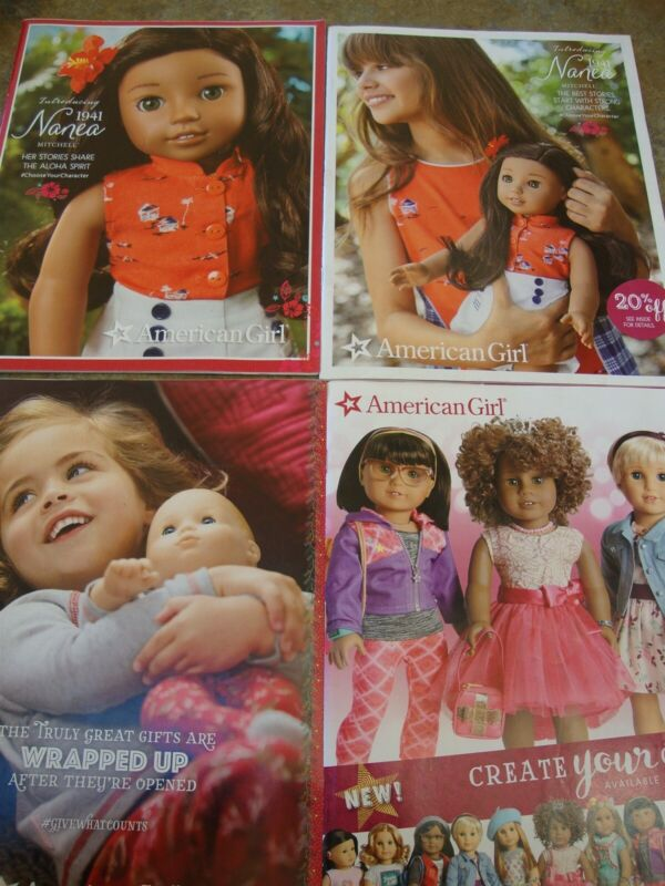 4 AMERICAN GIRL CATALOG 2017 March Create Your Own NANEA CHRISTMAS ISSUES